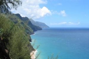 The trail to Kalalau Beach is one of the world's most strenuous.
